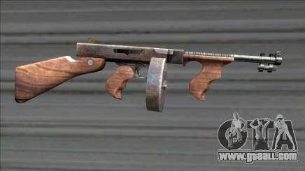 Resident Evil 4 chicago typewriter drum mag for GTA San Andreas