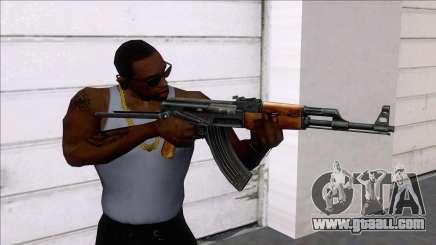 AKMS Assault Rifle for GTA San Andreas