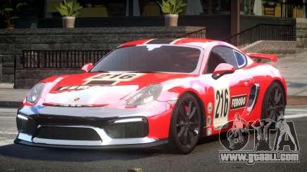 Porsche Cayman GT4 L1 for GTA 4
