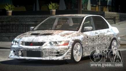 Mitsubishi Lancer VII SP PJ2 for GTA 4