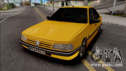 Peugeot 405 GLX Low for GTA San Andreas