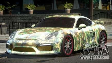 Porsche Cayman GT4 Drift L2 for GTA 4