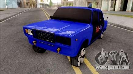 Vaz 2107 Bakines Style BySam1K for GTA San Andreas