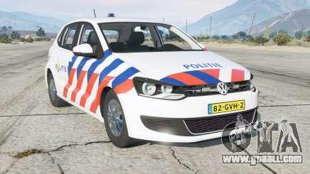 Volkswagen Polo 5-door (Typ 6R) Politie for GTA 5