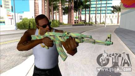 CSGO AK-47 Jungle Spray for GTA San Andreas