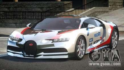 Bugatti Chiron ES L7 for GTA 4