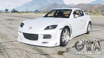 Mazda RX-8 200Ꝝ for GTA 5