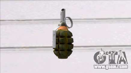 Fear the Wolves F1 Grenade for GTA San Andreas