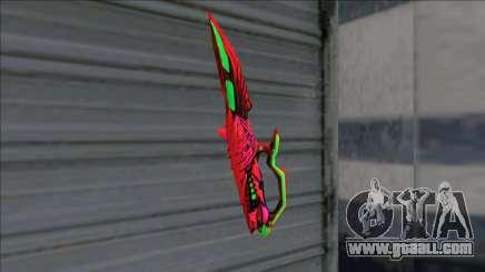 Deagle 3 Sinners Wrath Knife for GTA San Andreas