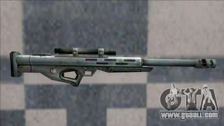 Half Life 2 Beta Weapons Pack Sniper Rifle for GTA San Andreas