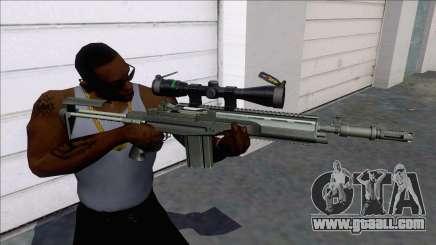 M14 SOPMOD Sniper for GTA San Andreas