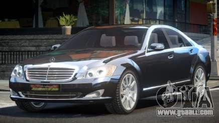 Mercedes-Benz W221 S600 ES for GTA 4