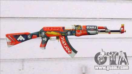 CSGO AK-47 Bloodsport for GTA San Andreas