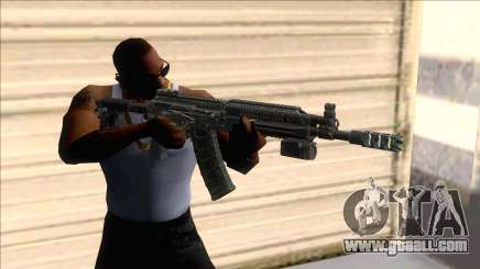 AK-16 Assault Rifle with Flashlight for GTA San Andreas