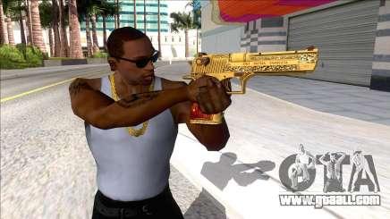 Desert Eagle Blue Estate The Game for GTA San Andreas