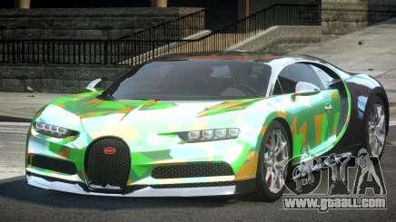 Bugatti Chiron ES L8 for GTA 4