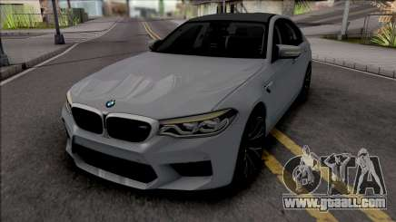 BMW M5 2018 for GTA San Andreas
