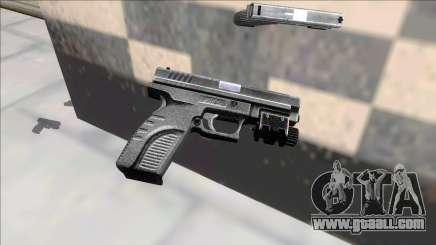 Resident Evil 4 default handgun for GTA San Andreas