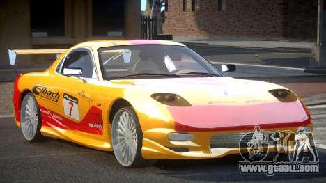 Mazda RX-7 PSI Racing PJ1 for GTA 4
