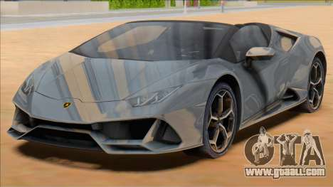 2020 Lamborghini Huracan EVO Spyder for GTA San Andreas