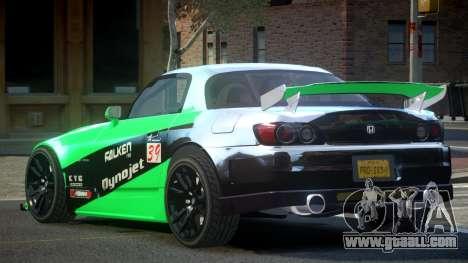 Honda S2000 PSI Drift L1 for GTA 4