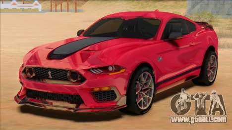 2021 Mach 1 Mustang for GTA San Andreas