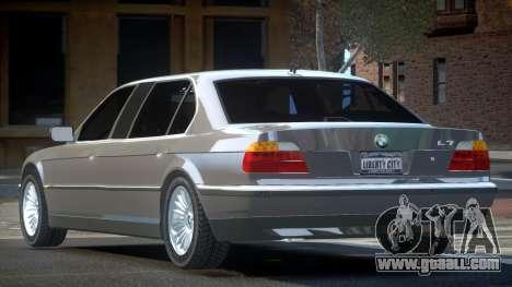 BMW 7-er E38 Custom for GTA 4