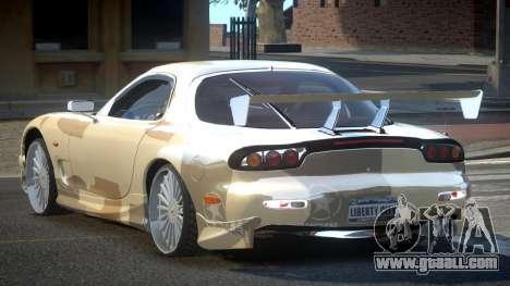 Mazda RX-7 PSI Racing PJ4 for GTA 4