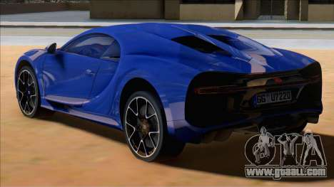 Bugatti Chiron Sport Blue for GTA San Andreas