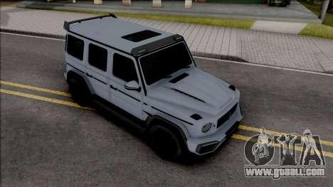 Mercedes-AMG G63 TopCar for GTA San Andreas