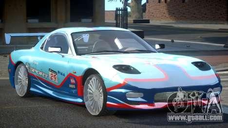Mazda RX-7 PSI Racing PJ5 for GTA 4