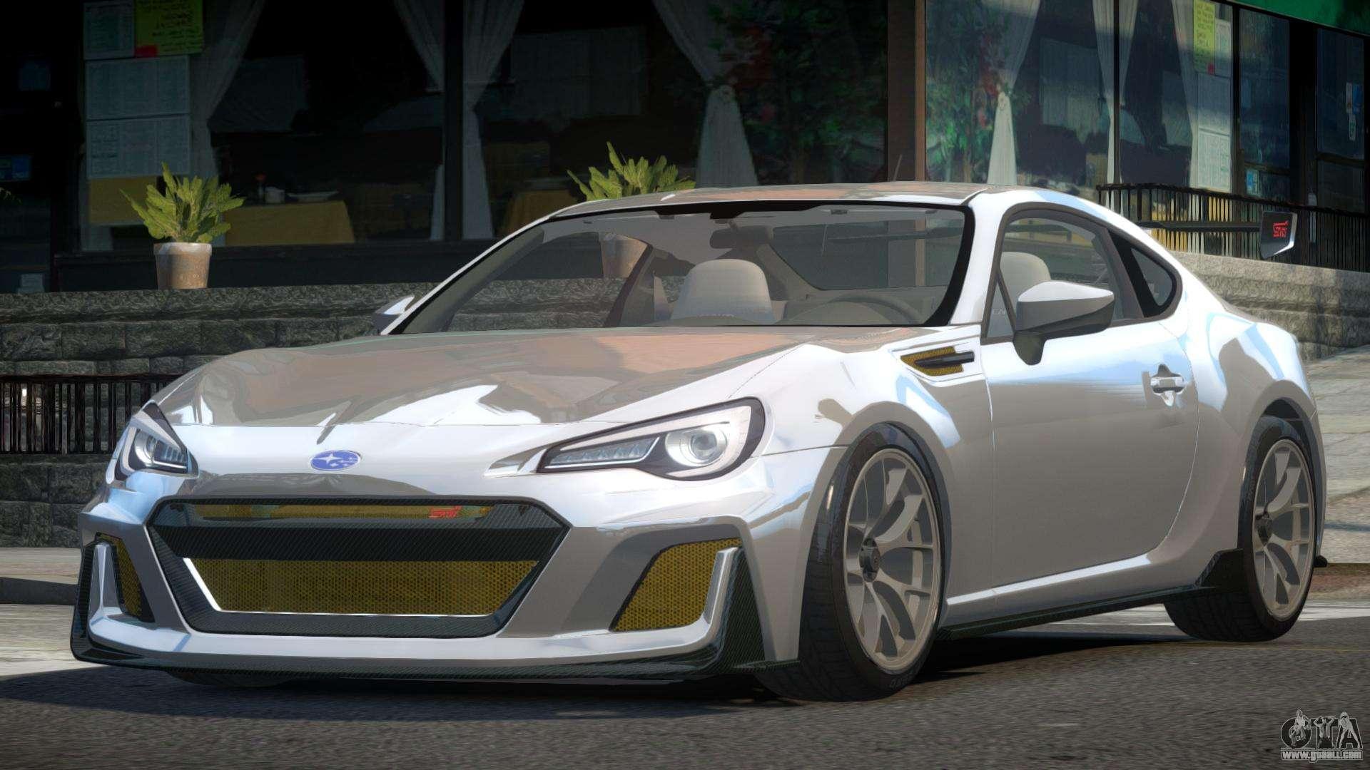 Subaru BRZ PSI Drift for GTA 4