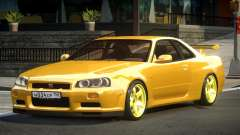 Nissan Skyline GS R34 for GTA 4