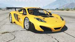 McLaren MP4-12C GT3 2011 for GTA 5