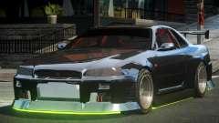 Nissan Skyline R-34 F-Tuning for GTA 4