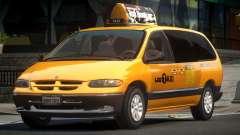 1996 Dodge Grand Caravan Taxi V1.1 for GTA 4