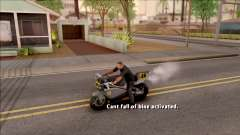 Can Not Fall Off The Bike for GTA San Andreas