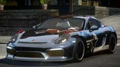 Porsche Cayman GT4 R-Tuned L9 for GTA 4