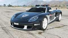 Porsche Carrera GT (980) Police for GTA 5