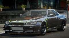 Nissan Skyline PSI R34 L9 for GTA 4