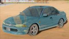 Proton Putra 2004 (Mirage Asti 2 door) for GTA San Andreas