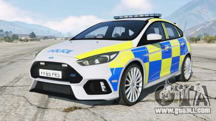 Ford Focus RS Police non ANPR for GTA 5