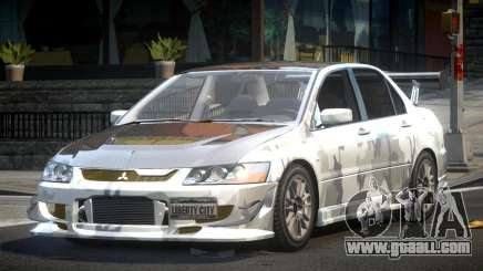 Mitsubishi Evolution VIII GS L2 for GTA 4