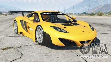 McLaren MP4-12C GT3 2011 for GTA 5