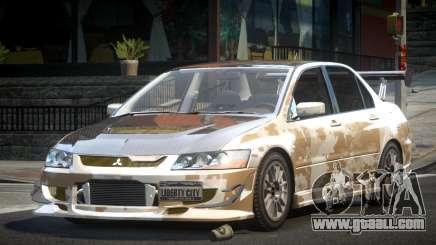 Mitsubishi Evolution VIII GS L4 for GTA 4