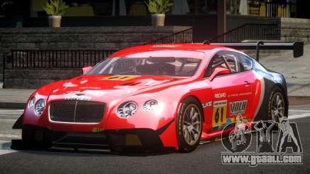 Bentley Continental GT Racing L5 for GTA 4