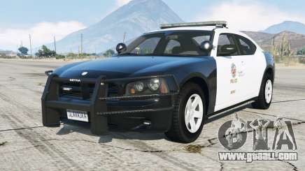 Dodge Charger (LX) Police for GTA 5