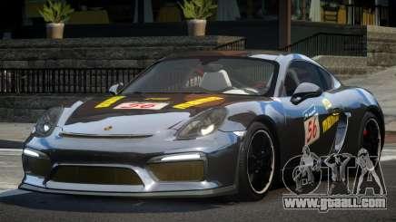 Porsche Cayman GT4 R-Tuned L3 for GTA 4