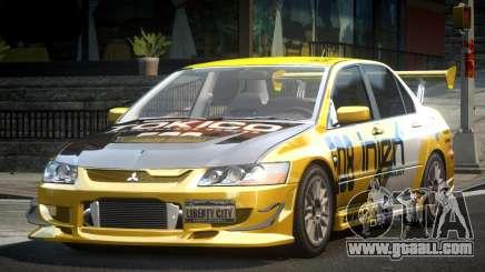Mitsubishi Evolution VIII GS L5 for GTA 4