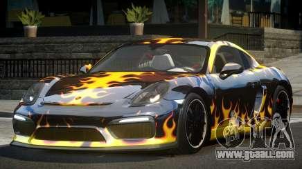 Porsche Cayman GT4 R-Tuned L4 for GTA 4